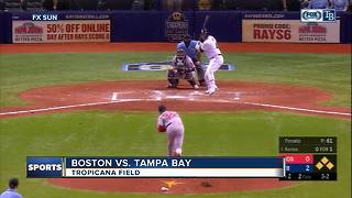 Blake Snell goes 6 scoreless innings as Tampa Bay Rays beat Boston Red Sox 6-3 - Video