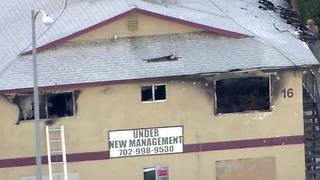 Henderson fire leaves apartment complex charred