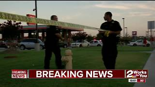 16 year old shot in the arm during shootout - Video