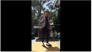 This Awesome Grandpa Has Some Serious Tap Dancing Skills