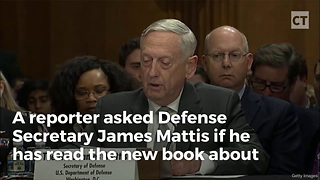 Reporter Gets on Wrong Side of James Mattis - Video