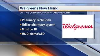 Workers Wanted: Walgreens is now hiring