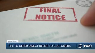 FPL to offer direct relief to customers