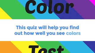 Test Your Vision And Find Out How Well You See Colors