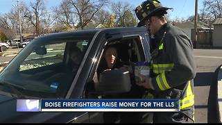 Boise firefighters fundraise for LLS - Video
