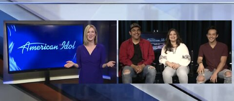 Interview with AMERICAN IDOL contestants