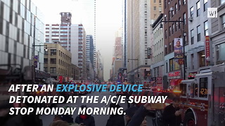 Explosion In New York City - Video