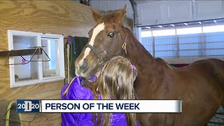 Detroit 2020 Person of the Week: Day Dreams Farm Equine Rescue and Rehabilitation - Video