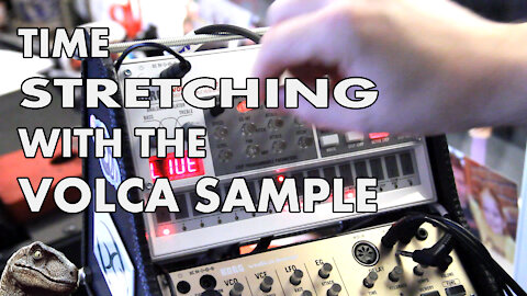 Volca Sample Time Stretching Jam