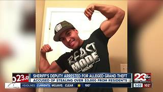 KCSO Deputy arrested for alleged grand theft