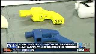 FEDERAL JUDGE BLOCKS DOWNLOADABLE GUNS - Video