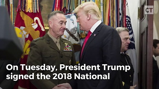 Trump Defense Bill Gives Troops a Raise - Video