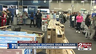A look inside Best Buy on Black Friday