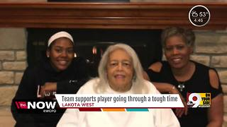 Lakota West basketball player Jasmine Ballew profoundly impacted by family's love - Video