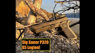 Sig Sauer P320 Legion X5! First Impressions and Unboxing