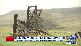 Lawsuit calls for additional research into safety at Rocky Flats National Wildlife Refuge - Video