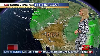 Dry conditions prevail after the storm