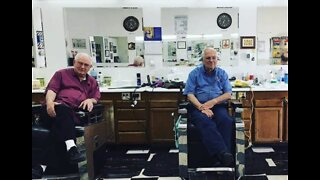 Barbers of 60 years pass shears to younger owner