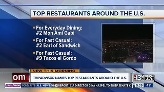 Las Vegas restaurants make TripAdvisor list