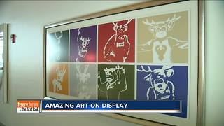 Fiserv Forum is decorated in local art - Video