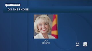 Former AZ Governor Jan Brewer weighs in on President Trump's positive COVID-19 test