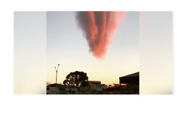 Bizarre Cloud Baffles Brazil Town - Video