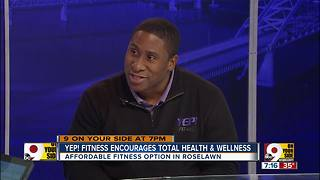 Yep! Fitness encourages total health - Video