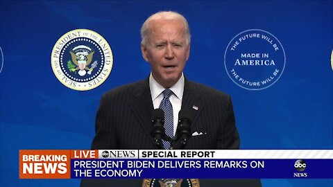 Special Report: Joe Biden addresses manufacturing in the U.S. amid the COVID-19 pandemic