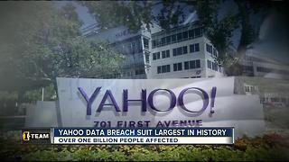 Yahoo hit with largest data breach suit in history - Video
