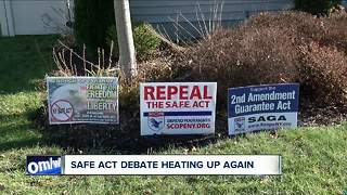 SAFE ACT debate heating up again - Video