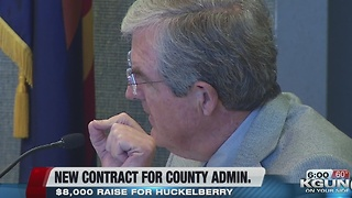 County Board of Supervisors approves six figure salary for Huckelberry - Video