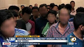 Protest to call for closure of migrant facilities