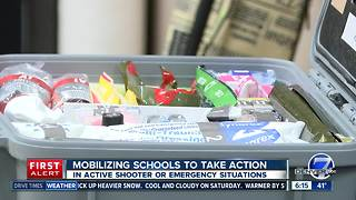Regis Jesuit among Colorado schools training with emergency kits - Video