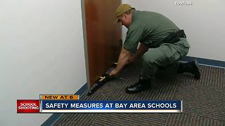 Safety measures at Bay area schools - Video