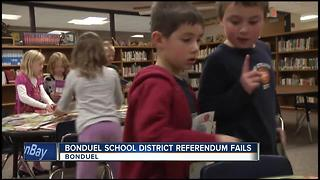 Bonduel School District referendum fails - Video