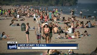First day of fall is hottest of the year - Video