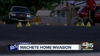 Homeowner opens fire on armed suspects - Video