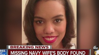 Missing Navy Wife's Body Found - Video