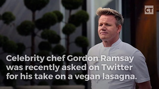 Chef Gordon Ramsay Mocks PETA - Video