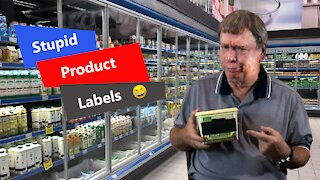 Stupid Product Labels