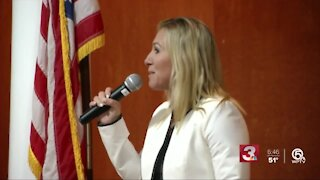 Rep. Greene removed from committees after expressing regret about conspiracy claims