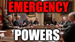 Will President Trump Invoke His Emergency Powers To #STOPTHESTEAL?!?!