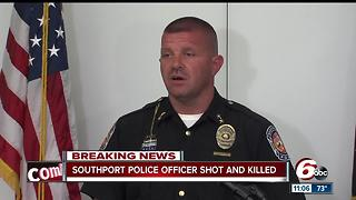 Southport Police give full details on what happened when Lt. Allen was shot - Video