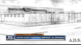 Canyon County Commissioners to vote on temporary jail expansion - Video