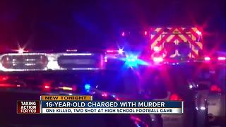 Jacksonville authorities charge 16-year-old with murder after shooting - Video