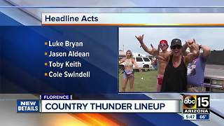 2018 Arizona Country Thunder lineup: Luke Bryan, Jason Aldean, Toby Keith to headline - Video