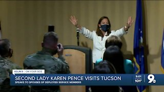 Second Lady Karen Pence visits Tucson