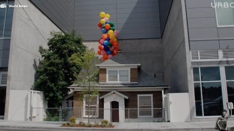 "The House From ""Up"" Actually Exists"