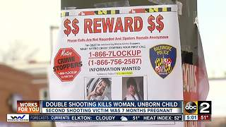 Unborn baby and woman killed in double shooting - Video