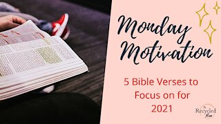 5 Bible Verses to Help You Grow in Christ